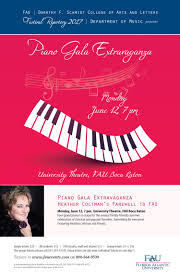 Living Room Theater At Fau Florida by Piano Gala Extravaganza Florida Atlantic University Dorothy F