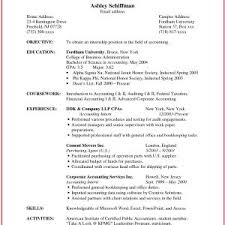 Staff Accountant Resume Sample Best Canada Site