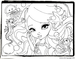 Happy Lisa Frank Cute Coloring Pages