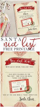 Best 25 Santa s nice list ideas on Pinterest