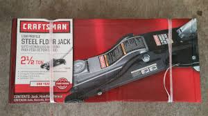 fs for sale never used craftsman 2 1 2 ton floor jack and pair