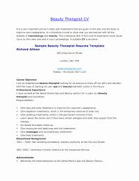Massage Therapist Resume Objectives New Remarkable Examples For Beauty Also