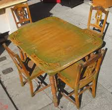 Kitchen Table In 1940s