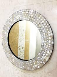 wandspiegel schlafzimmer mutter der perle inlay rahmen wand hängen spiegel dekorative wohnkultur