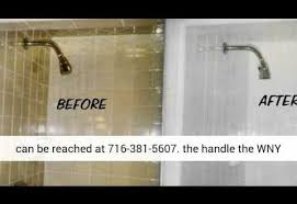bathtub refinishers buffalo ny how to refinish a bathtub diy shower and tub refinishing
