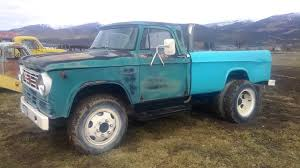 1967 Dodge D500 Pickup - YouTube