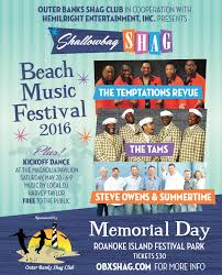 OBX Entertainment Shallowbag Shag Beach Music Festival 2016 Poster