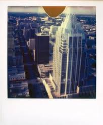 in this instant image on expired polaroid 600 a