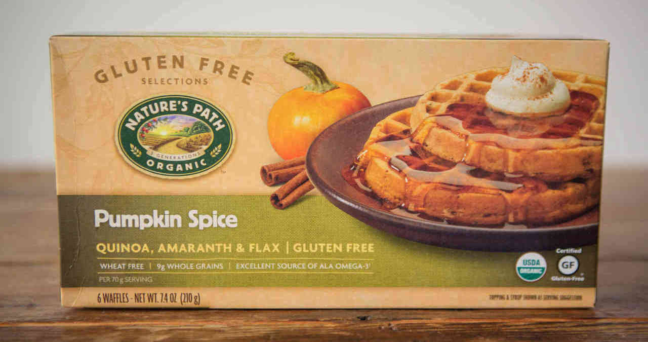 Nature's Path Waffles - Pumpkin Spice, 6ct