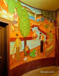 Coit Tower Mural City Life by 1507 Best San Francisco And Bay Area Images On Pinterest