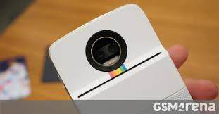 Polaroid Insta Printer MotoMod hands on GSMArena news