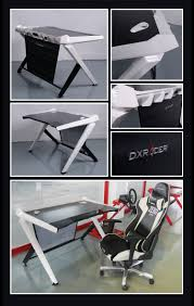 Pyramat Gaming Chair Ebay by Dxracer Gaming Desk Black And White Adultswimatl Shopping