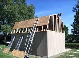 16 x 20 tall barn kit idaho wood sheds storage sheds