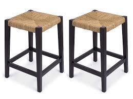 Amazon.com: BirdRock Home Rush Weave Backless Counter Stool | Set Of ... Millennium Porter Counter Height Xback Upholstered Swivel Barstool Weston Home Ohana Chair Black Oak Set Of 2 Winners Only Daphne 78 Solid Birch Ding Table Saddle Seat Bar Stool In Cherry With 24 Inch Room Cayden Dark Gray Fabric Coaster Sofie 120519 By How To Choose The Right Heights For Your Kitchen Shop And Sets Wolf Fniture Stanton Value City Round With Microsuede Comfy Pier One Stools Making Remarkable Sale Fnitures Prices Brands Review In