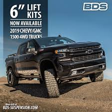 100 Trucks With Lift Kits BDS New Product Announcement 324 2019 ChevyGMC 1500 BDS