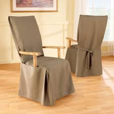 Sure Fit Dining Chair Slipcovers by Sure Fit Stretch Pique Short Dining Chair Cover Pertaining To