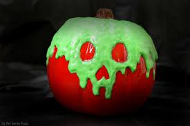 Maleficent Pumpkin Designs by Glow In The Dark Poison Apple Pumpkin As The Bunny Hops
