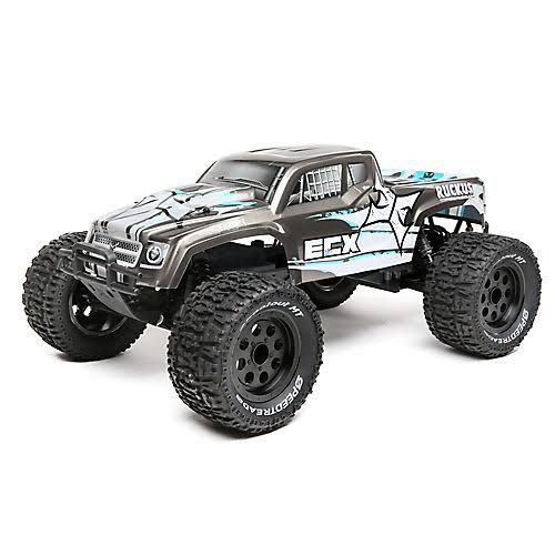 ECX 1/10 2WD Ruckus Brushless Monster Truck: RTR ECX03314