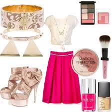 Pink Girly Girl Outfit OutfitsCute