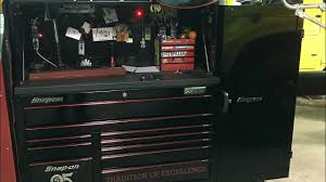 100 Snap On Truck Tool Box On Tool Box With Hutch And Locker Tour YouTube