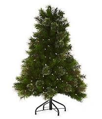 Trimsetter Cashmere Mixed LED Pre Lit 4 Ft Tree