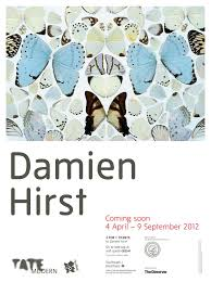 damien hirst exclusive poster the butterflies that