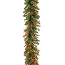 Westinghouse Pre Lit Christmas Tree Replacement Bulbs by National Tree Company 9 Ft Norwood Fir Artificial Garland With