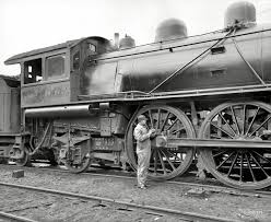 Huckleberry Railroad Halloween by Photo 1894 Michigan