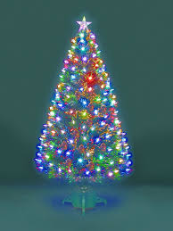 3 Fiber Optic Tabletop Christmas Tree by Christmas Offers