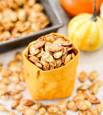 Preserve Carved Pumpkin Forever by Homemade Cinnamon Sugar Pumpkin Seeds Joyfoodsunshine