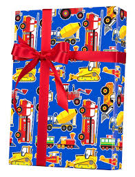 100 Trucks Paper Amazoncom Construction Airplanes Gift Wrap Wrapping