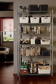 Kitchen Storage Ideas Pinterest by Innovative Metal Kitchen Storage Best 25 Metal Kitchen Shelves