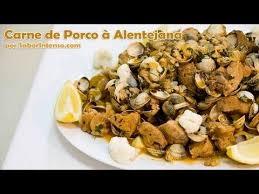 recette de cuisine portugaise facile carne de porco à alentejana saborintenso com cuisine portugaise