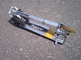 FileEarly Razor Scooter Folded