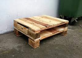 build pallet coffee table on wheels