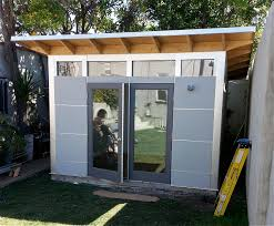 Tuff Shed Denver Jobs by 12x20 Modern Shed Plans Office Shed I Would Cut This Down To 12