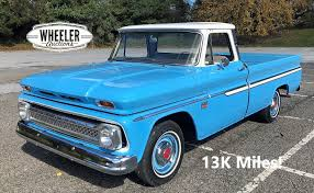 100 C10 Truck For Sale 1966 Chevrolet Pickup 13K Miles For Sale 109921 MCG