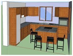 plan cuisine 3d cuisines avec plans 3d m e s menuiserie ébénisterie souverain