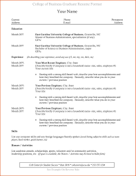 Resume Example Graduated With Honors