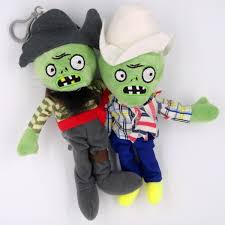 Cheap Plants Vs Zombies Toys Peashooter Zombie ABS Doll Shooting