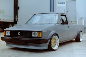 Grit N Grain — Love This Awesome Stanced VW Rabbit Truck!