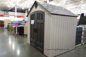 trend resin storage sheds costco 58 for your rubbermaid storage