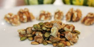 Roasted Shelled Pumpkin Seeds Recipe by Roasted Walnut And Hulled Pumpkin Seeds Recipes Food Network Canada