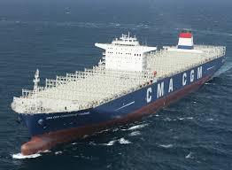 le plus gros porte conteneurs français entre en service mer et