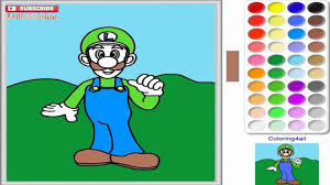 Super Mario Coloring Pages Book Online Colouring Games