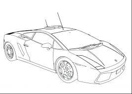Unbelievable Police Car Coloring Pages Free Printable Lamborghini Aventador