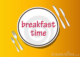 Breakfast Time Clipart