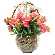 Silk Roses Bf142 11km 1200x1200h Vases Pink Flower Vase I 0d Gold