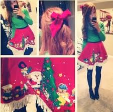 The Tree Skirt I Wore Last Year For An Ugly Christmas Sweater Party On Pinterest So Thought Would Do A Post To Answer All Questions At Once