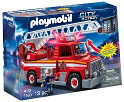 99 Amazon Truck Parts Com PLAYMOBIL Rescue Ladder Unit Toys Games